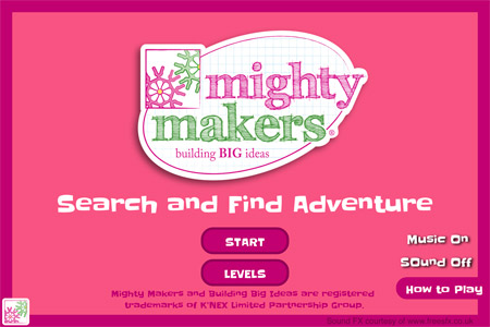 Mighty Makers Game