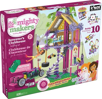 Inventors Clubhouse      Building Set