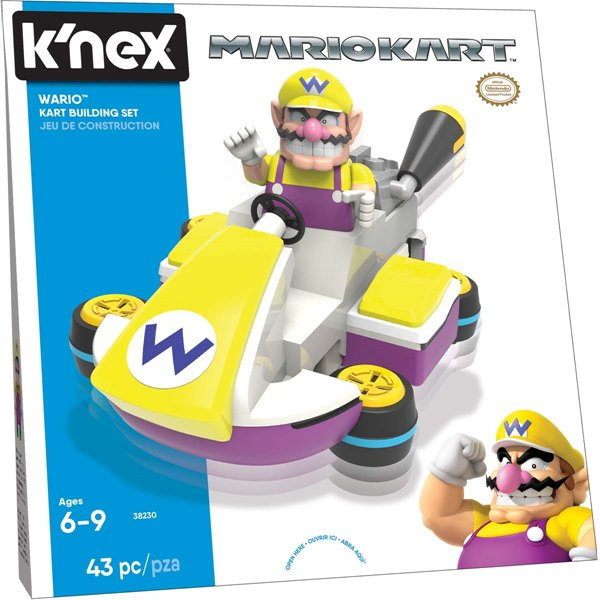 Wario(Tm) Kart Building Set