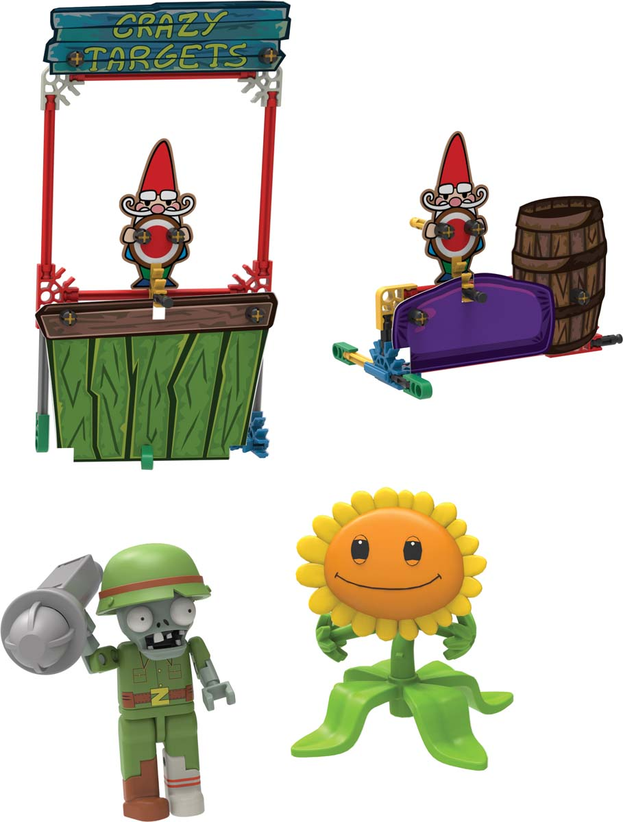 K'NEX Plants Vs Zombies Crazy Targets Building Set | KNEX co