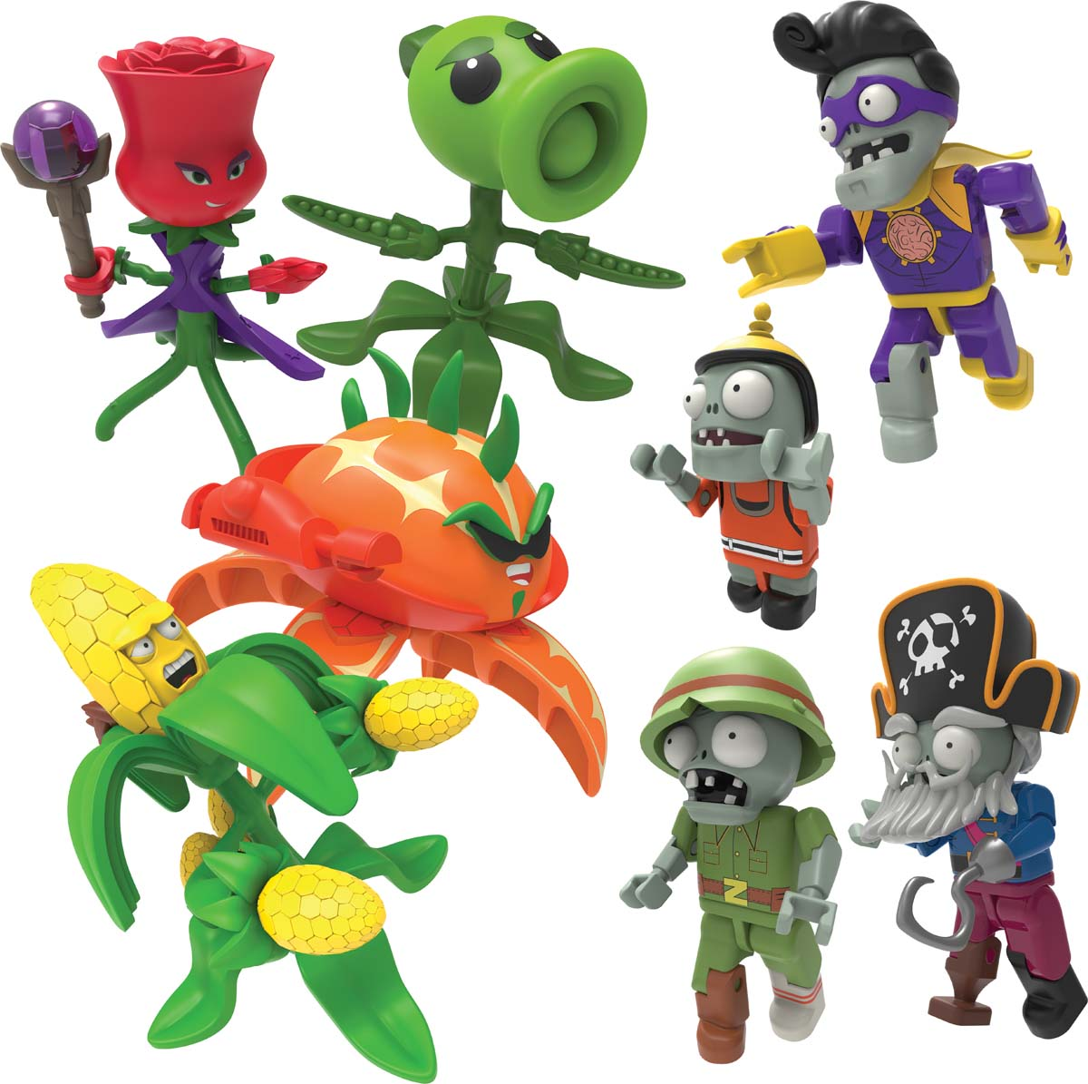 Plants Vs Zombies Mystery Figures Series 4 Knex Co Uk Where