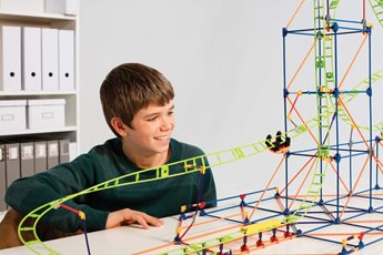K'nex Thrill Rides Infinite Journey Roller Coaster Building Set