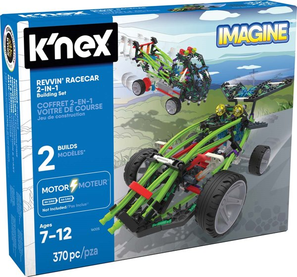 K'nex Imagine Revvin' Racecar 2-In-1 Building Set
