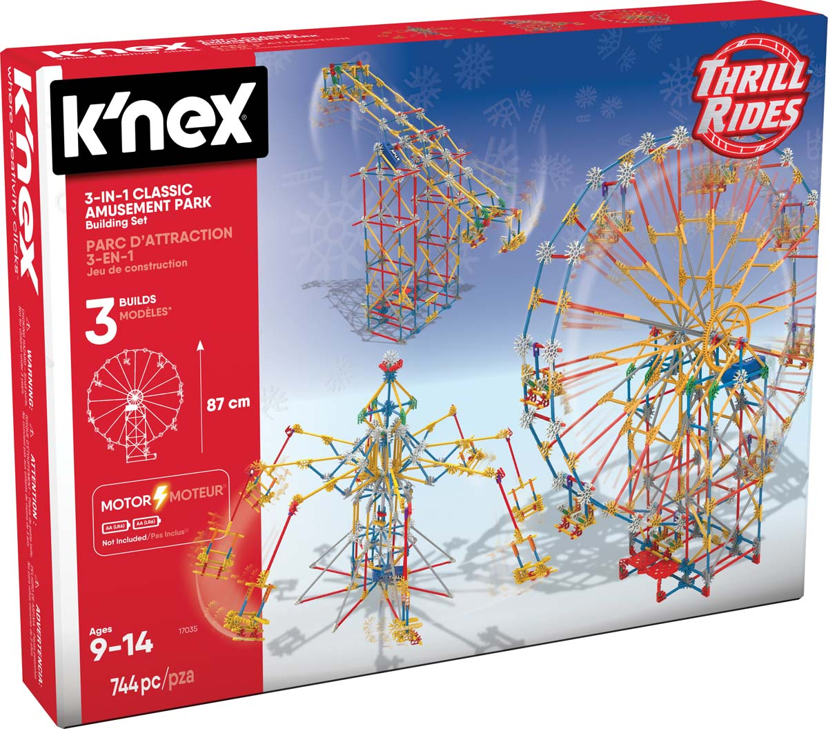 K Nex Thrill Rides 3 In 1 Classic Amusement Park Building Set Knex Co Uk Where Creativity Clicks
