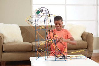 K'nex Thrill Rides Hornet Swarm Roller Coaster Building Set