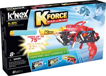 K'nex K-Force K-10V Building Set
