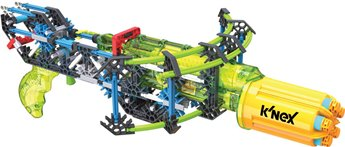 K'nex K-Force Super Strike Rotoshot Blaster Building Set