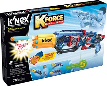 K'nex K-Force K-25X Rotoshot Blaster Building Set