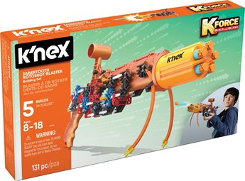 K'nex K-Force Sabertooth Rotoshot Blaster Building Set