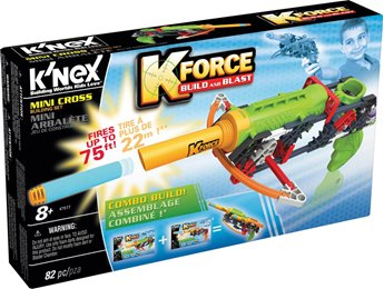 K'nex K-Force Mini Cross Building Set