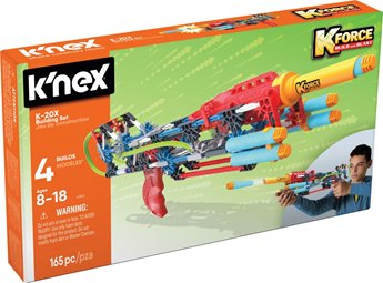 K'nex K-Force K-20X Building Set