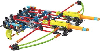 K'nex K-Force Dual Cross Building Set
