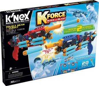 K'nex K-Force Double Draw Building Set And Target
