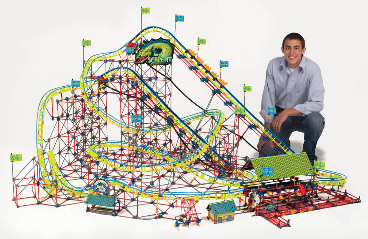 K Nex Thrill Rides Son Of Serpent Coaster Knex Co Uk Where Creativity Clicks