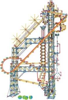 K'nex Thrill Rides Big Ball Factory Building Set
