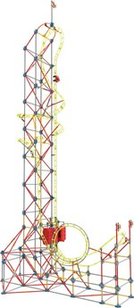 K'nex Thrill Rides Sky Sprinter Roller Coaster Building Set
