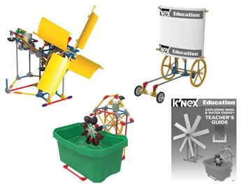 K'nex Education Exploring Wind And Water Energy Set