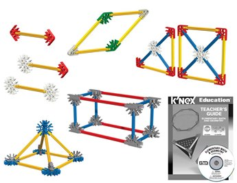 K'nex Education® Elementary Math And Geometry Set