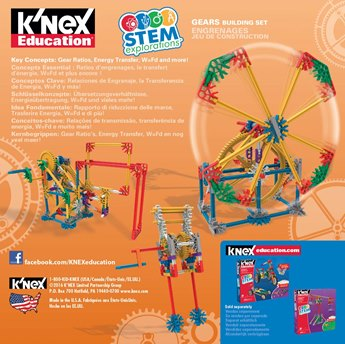 K'NEX Education® Stem Explorations Gears Building Set