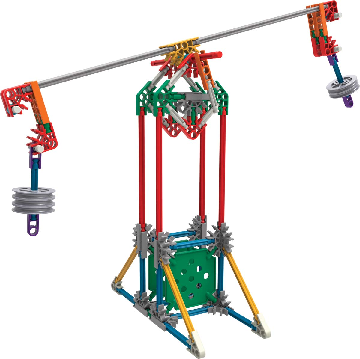 Pulleys And Levers : K nex education? stem explorations levers and pulleys
