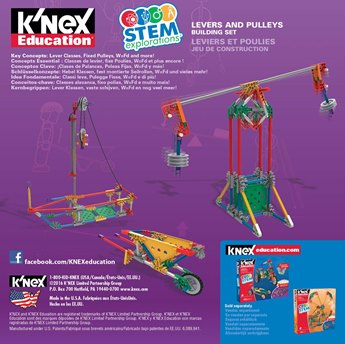 K'NEX Education® Stem Explorations Levers And Pulleys Building Set