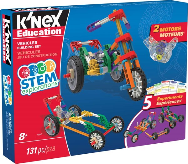 K'NEX Education® Stem Explorations Vehicles Building Set