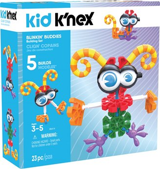 Kid K'NEX Blinkin' Buddies Building Set