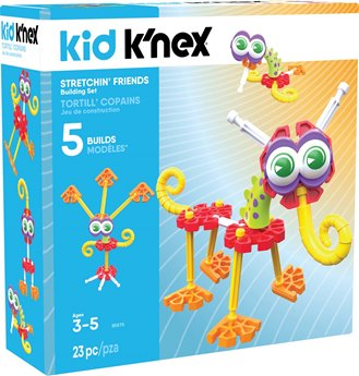 Kid K'NEX Stretchin' Friends Building Set