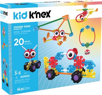 Kid K'NEX Zoomin' Rides Building Set