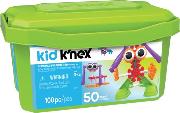Kid K'NEX Budding Builders Building Set