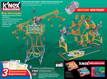 K'NEX Education Stem Explorations: Swing Ride Building Set