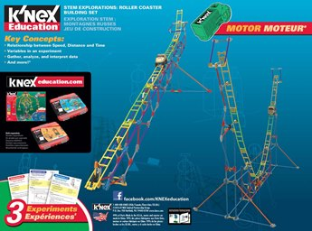K'NEX Education Stem Explorations: Roller Coaster Building Set
