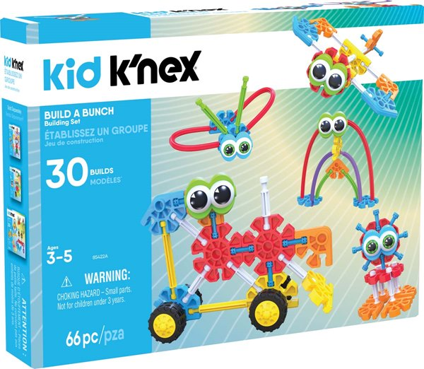 Kid K'NEX Build A Bunch Set