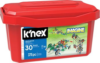 K'NEX Imagine 375 Piece Deluxe Building Set