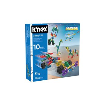 K'NEX Imagine 10 Model Building Fun Set