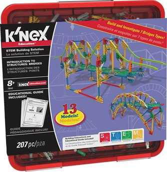 K'NEX Education Intro To Structures Bridges Set