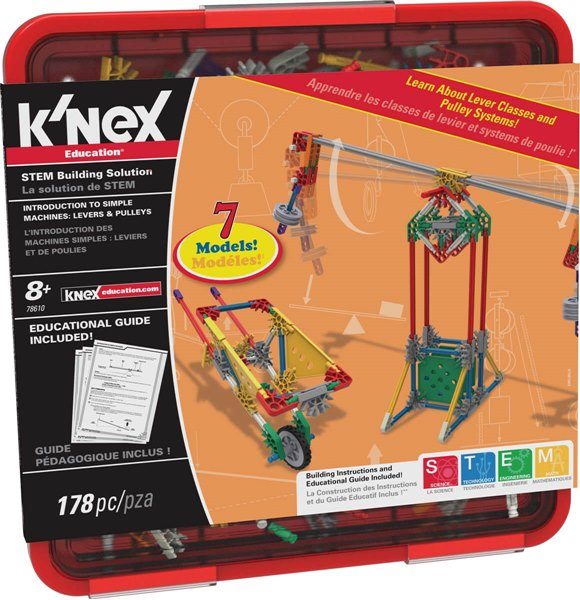 K'NEX Education Intro To Simple Machines Levers And Pulleys Set