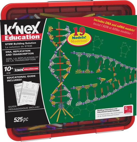 K'NEX Education Dna Replication And Transcription Set
