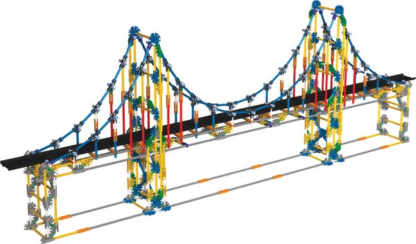 K'NEX Education Real Bridge Building Set